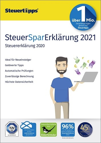 SteuerSparErklärung 2021 (für Steuerjahr 2020) Download